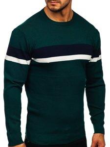 Zielony sweter męski Denley H2072